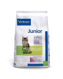 Virbac Veterinary HPM Junior Neutered Cat 400 grs- La Compagnie des Animaux
