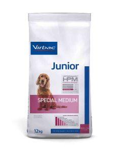 Virbac Veterinary HPM Junior Special Medium Dog 12 kg- La Compagni des Animaux