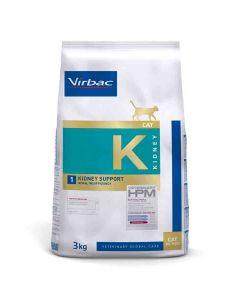 Virbac Veterinary HPM Kidney Support pour Chat 3 kg - La Compagnie des Animaux