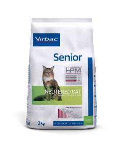 Virbac Veterinary HPM Senior Neutered Cat 3 kg- La Compagnie des Animaux