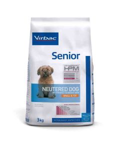 Virbac Veterinary HPM Senior Neutered Small & Toy Dog 3 kg- La Compagnie des Animaux