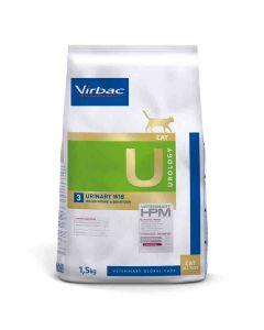 Virbac Veterinary HPM Urology Urinary WIB Chat 1.5 kg- La Compagnie des Animaux