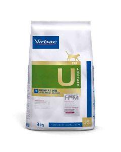 Virbac Veterinary HPM Urology Urinary WIB Chat 3 kg - La Compagnie des Animaux
