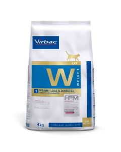 Virbac Veterinary HPM Weight Loss & Diabetes chat 3 kg - La Compagnie des Animaux