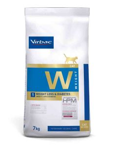 Virbac Veterinary HPM Weight Loss & Diabetes chat 7 kg- La Compagnie des Animaux