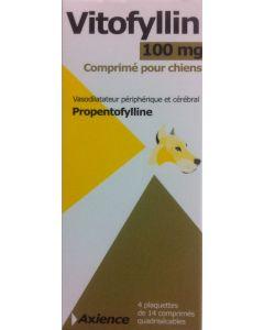 Vitofyllin 100 mg Chien 4 x 14 cps