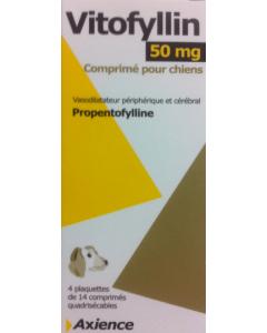 Vitofyllin 50 mg Chien 4 x 14 cps