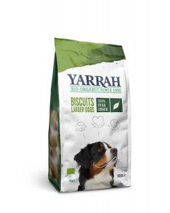 Yarrah Bio Biscuits Végétariens pour Chiens 500 grs- La Compagnie des Animaux