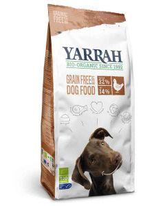 Yarrah Bio Croquettes sans céréales (Grain Free)  au poulet pour chien 2 kg- La Compagnie des Animaux
