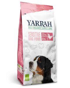 Yarrah Bio Croquettes Sensitive au poulet pour chien 10 kg- La Compagnie des Animaux