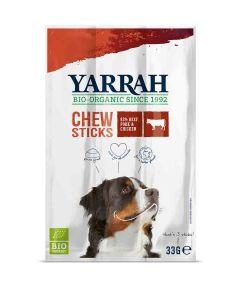 Yarrah Bio Friandises à mâcher au Boeuf pour Chien 3 x 11 grs- La compagnie des animaux