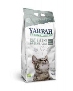 Yarrah Bio Litière agglomérante pour chats 7 kg- La Compagnie des Animaux