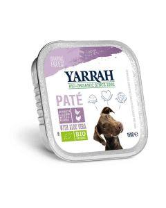 Yarrah Bio Pâté de dinde à l'aloe vera pour chien 14 x 150 grs- La Compagnie des Animaux