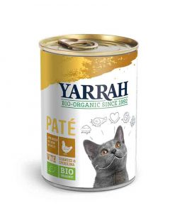 Yarrah Bio Pâté de poulet à la spiruline et aux algues marines- La Compagnie des Animaux