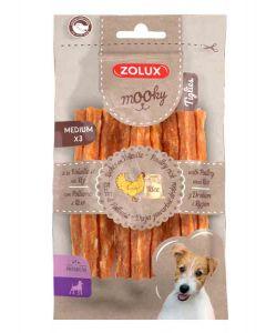 Zolux Mooky Premium Tiglies volaille riz M x3