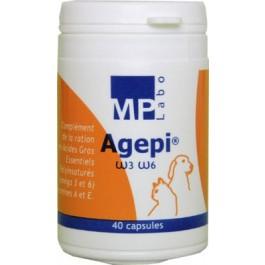 Agepi Omega 3 et 6 - 40 capsules - Dogteur
