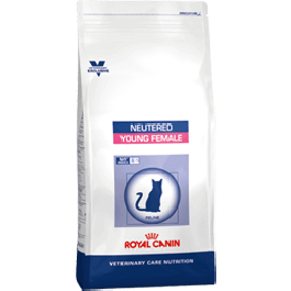 Royal Canin Vet Care Nutrition Neutered Cat Young Female 400 grs - Dogteur