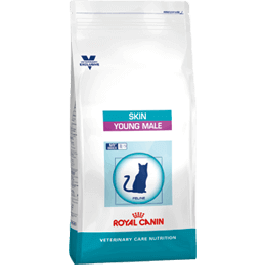 Royal Canin Vet Care Nutrition Cat Skin Young Male 400 grs - Dogteur