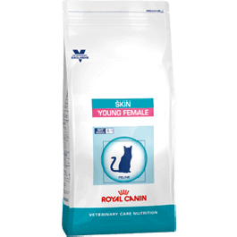 Royal Canin Vet Care Nutrition Cat Skin Young Female 400 grs - Dogteur