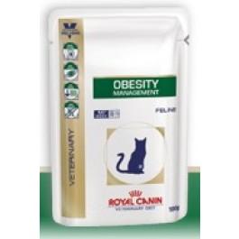 Royal Canin Veterinary Diet Cat Obesity Sachet 12 x 100 grs - Dogteur