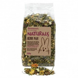 Rosewood Naturals Herbal Plus pour Petits Mammifères 500 gr - Dogteur