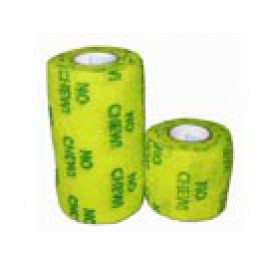 Bandes cohésives No Chew 10 cm Jaune - Dogteur