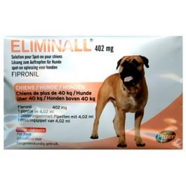 Eliminall Chien +40kg 1 pipette (générique Frontline) - Dogteur
