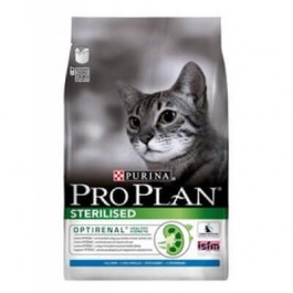 Purina Proplan Optirenal Adult Cat Sterilised Dinde 3 kg - Dogteur