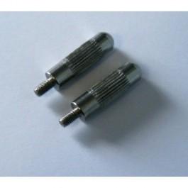 2 électrodes longues pour collier Canicalm - Dogteur