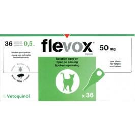Flevox Chat 6 pipettes (generique frontline) - Dogteur