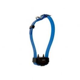 Collier Canicom à sangle bleue - Dogteur