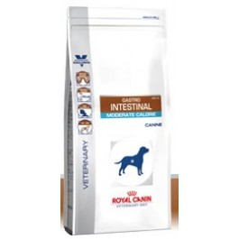 Royal Canin Veterinary Diet Dog Gastro Intestinal Moderate Calorie GIM23 7.5 kg - Dogteur