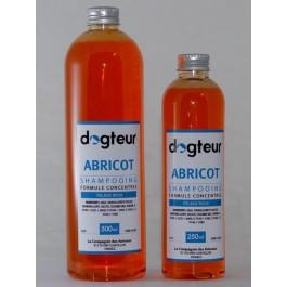 Offre Dogteur: 1 Shampooing PRO Dogteur Abricot 5 L acheté = 1 gant de toilettage offert - Dogteur