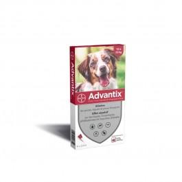 Advantix chien moyen (10-25 kg) - 6 pipettes - Dogteur