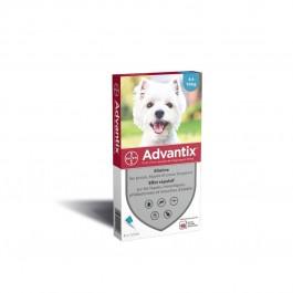 Advantix petit chien (4-10 kg) - 6 pipettes - Dogteur