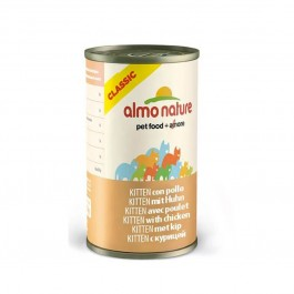 Almo Nature Chat Classic Kitten Poulet 24 x 140 grs - Dogteur