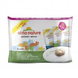Almo Nature Chat Classic Multi Pack Assortiment de recettes au thon 6 x 55 grs - Dogteur