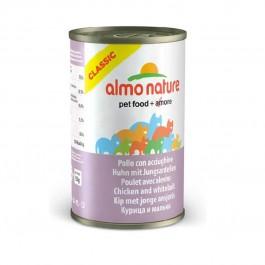 Almo Nature Chat Classic Poulet avec Alevins 24 x 140 grs - Dogteur