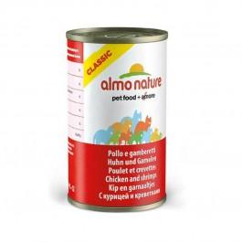 Almo Nature Chat Classic Poulet et Crevettes 24 x 140 grs - Dogteur