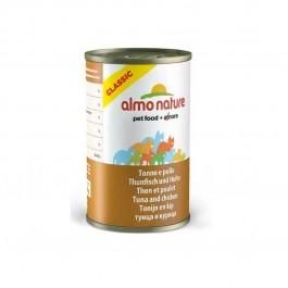 Almo Nature Chat Classic Thon et Poulet 24 x 140 grs - Dogteur