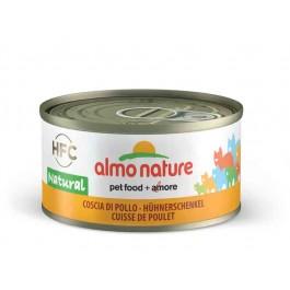 Almo Nature Chat Natural HFC Cuisse de Poulet 24 x 70 grs - Dogteur