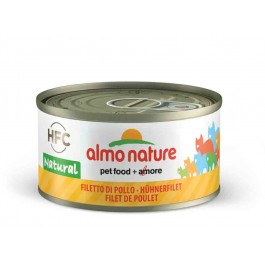 Almo Nature Chat Natural HFC Filet de Poulet 24 x 70 grs - Dogteur