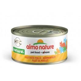 Almo Nature Chat Natural HFC Filet de Poulet 24 x 70 grs - Dogteur