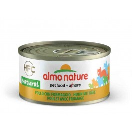 Almo Nature Chat Natural HFC Poulet avec Fromage 24 x 70 grs - Dogteur