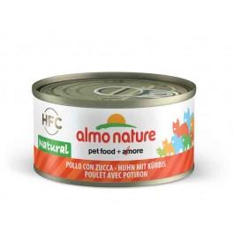 Almo Nature Chat Natural HFC Poulet avec Potiron 24 x 70 grs - Dogteur