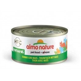 Almo Nature Chat Natural HFC Thon avec maïs 24 x 70 grs - Dogteur