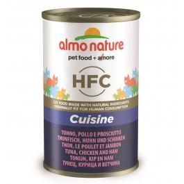 Almo Nature Chat HFC Thon, Poulet et Jambon 24 x 140 grs - Dogteur