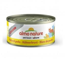Almo Nature Chat Legend Blanc de poulet 6 x 70 grs - Dogteur