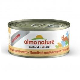 Almo Nature Chat Legend Thon avec crevettes 6 x 70 grs - Dogteur