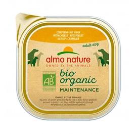 Almo Nature Chien Daily Menu Bio Poulet 9 x 300 grs - Dogteur